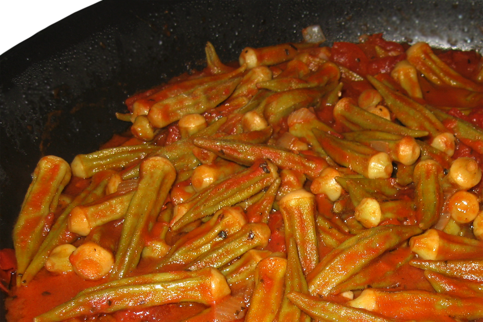 Bamia - Meat and Okra Stew